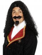 Parrucca lunga da moschettiere da uomo