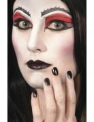 Smalto e rossetto nero Halloween
