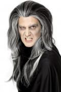 Parrucca lunga da vampiro per adulti