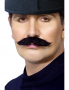 Baffi da agente di polizia inglese per adulto