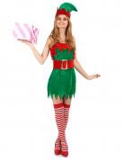 Travestimento elfo natalizio da donna