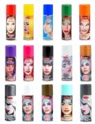 Spray colorato per capelli