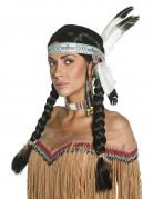 Parrucca da indiana per donna