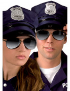 Occhiali da poliziotto per adulto
