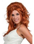 Parrucca rossa da cowgirl per donna