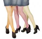 Collant fluorescenti a rete per donna