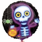 Palloncino scheletro in tema Halloween