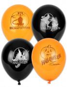 100 Palloncini arancioni e neri Halloween