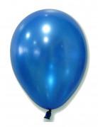 Palloncini blu metallizzati 29 cm