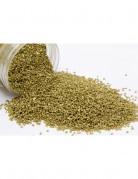 Sabbia dorata per addobbare vasi e superfici