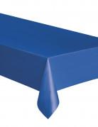 Tovaglia rettangolare di plastica blu