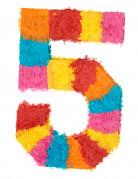 Pignatta a forma di numero 5