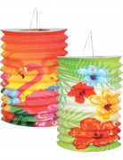 2 lanterne in stile Hawaii