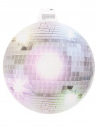 Decorazione murale sfera specchiata da discoteca