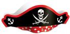 Cappello nero da pirata per adulto