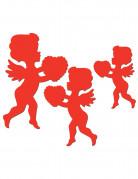 Decorazione San Valentino cupido rosso
