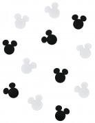 Decorazioni di carta per tavola in tema Mickey Mouse™ nere e bianche
