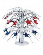 Centrotavola fontana con stelle USA
