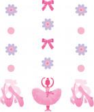3 decorazioni da appendere Ballerina