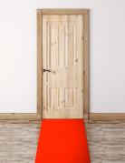 Lungo tappeto rosso