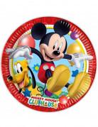 8 piatti in cartone Mickey Mouse™ 23 cm