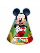 6 cappellini di carta Mickey Mouse™