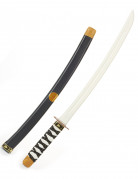 Spada ninja per bambino in plastica 60 cm