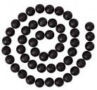Ghirlanda con palline di colore nero