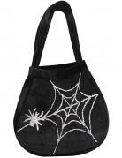 Borsa di tela con ragno da adulto per Halloween