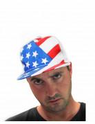 Cappellino con bandiera USA
