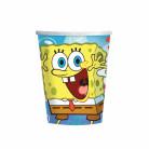 8 Bicchieri carta colorati di SpongeBob™