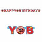Ghirlanda per festa di compleanno di Sam il Pompiere™