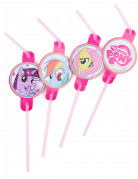 8 cannucce in plastica My Little Pony