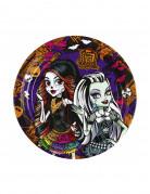 8 Piatti di carta serie Monster High™