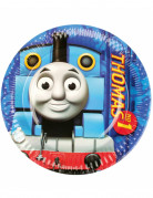Set di 8 piatti di carta rotondi Il Trenino Thomas™
