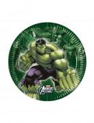 Piatti in carta degli eroi The Avengers