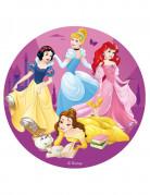 Disco di zucchero principesse Disney™ 16 cm