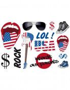 Stickers murali stile USA