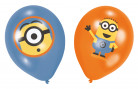 6 palloncini Minions Cattivissimo Me