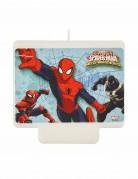 Candelina rettangolare per torta Spiderman™
