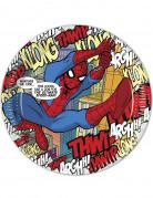 8 Piattini di carta a tema Spiderman™