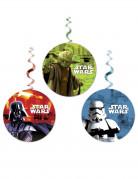 3 Decorazioni vortice da appendere Star Wars™