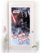 Decorazione per porte: sticker con Dart Fener™ di Star Wars™