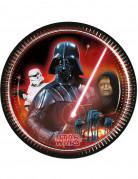 8 Piattini di carta Dart Fener originali Star Wars™