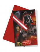 Confezione 6 Biglietti invito Star Wars™