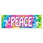 Cartellone in plastica con la scritta Peace