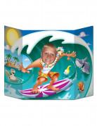 Cartellone surfista per foto