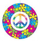 Decorazione di carta da appendere a tema pace 30cm
