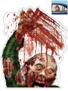 Decorazione Halloween Zombie per finestrino auto