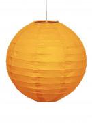 1 lanterna sferica arancione
